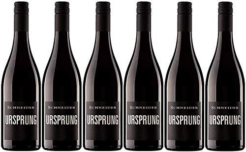 Markus Schneider Ursprung 2018 6er Paket | Rotwein aus Deutschland (6 x 0.75l) | Trocken | Pfalz