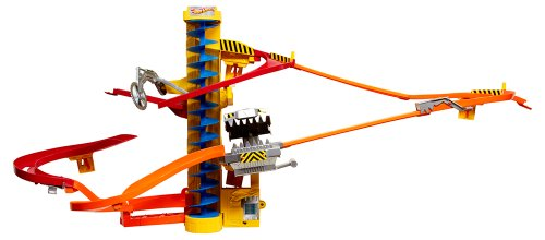 Hot Wheels Wall Tracks Power Tower Trackset by