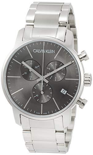 Calvin Klein–Reloj de Pulsera Hombre cronógrafo Cuarzo Acero Inoxidable k2g27143