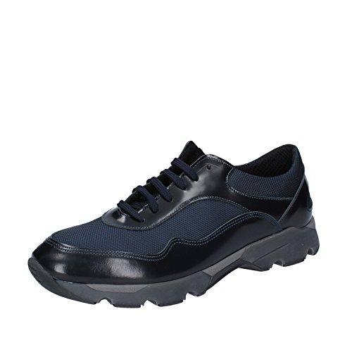 Baldinini Sneaker Uomo Pelle Blu 43 EU