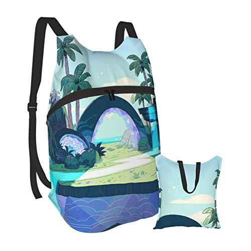 Ste_ven Univ_erse Faltbare tragbare Bapa Casual Leichte Tasche Wasserdichtes Hochleistungs-Reisecamping für Schüler Bapas