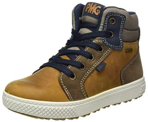 Primigi Pbygt 63969, Sneakers Basses garçon, Cuoio/to.S/Be.S, 34 EU