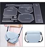 1 Set Leathercraft Model for DIY Fashion Women Messenger Bag Female Clutch Crossbody Bag