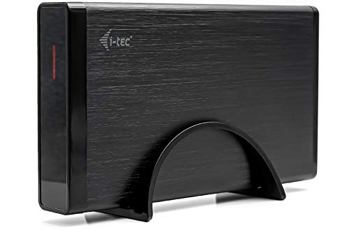 i-tec Externe Festplatte 750GB 3.5 Zoll USB 3.0 HDD MYSAFE35U401 Backup Desktop Festplatte, für PC, Laptop, Notebook, Windows, kompatibel mit Mac OS, Linux, Xbox, Gaming PC