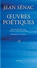 Oeuvres poétiques - Fermeture et bascule vers 9782330118181 de Jean Sénac