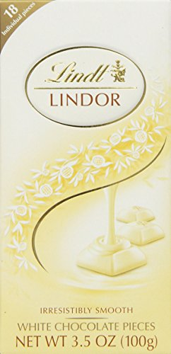 Lindt Truffle White Chocolate, 3.5 oz