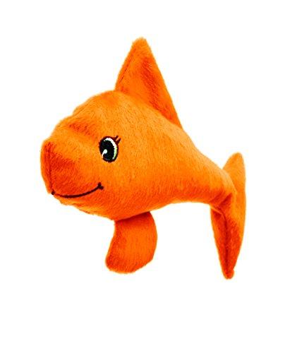 Katzenspielkissen Welli-Fisch orange