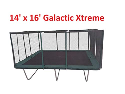 Happy Trampoline - Galactic Xtreme Gymnastic Rectangle...