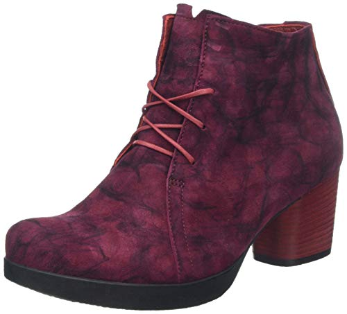 Think! Damen DRAWI_585231 Stiefeletten, Rot (Rosso 70), 43 EU