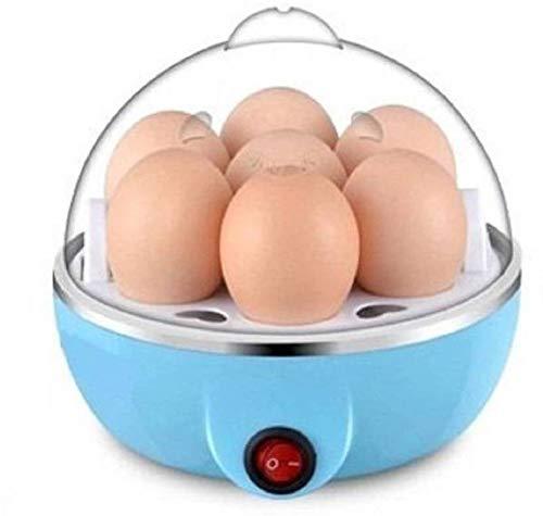 MOSHTU Plastic Electric Egg Cooker, Boiler, Hard Boil Steamer and Poacher (Multicolour, Small)