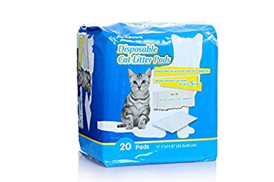 All-Absorb 20 Count Cat Litter Pads, 43.5 x 30cm by All Absorb