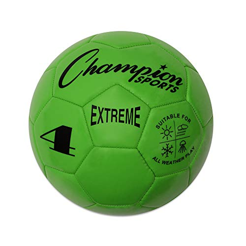 Champion Sports Extreme Series Composite Soccer Ball: Sizes 3