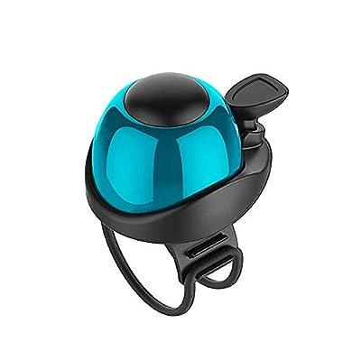 Glodorm Adjustable Bicycle Bell,Universal Bike Bell,Loud Sound Bike Ring for Road Bike,MTB Bike,City Bike,Sports Bike,Kid's Bike,Ninebot Segway ES1 ES2 ES4 and Xiaomi M365 Electric Scooter (Blue),