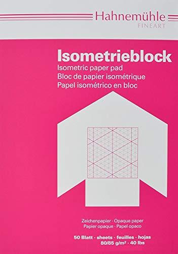 Hahnemühle FineArt 10662642 Isometrieblock A4 Papier