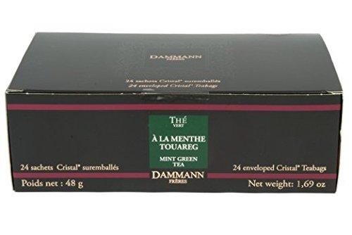 Desconocido Té DAMMANN FRÈRES - Touareg Mint (Té Verde & Menta Piperita) - 24 Sobres Cristal