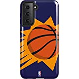 Skinit Pro Phone Case Compatible with Samsung Galaxy S21 5G - Officially Licensed NBA Phoenix Suns Large Logo Design