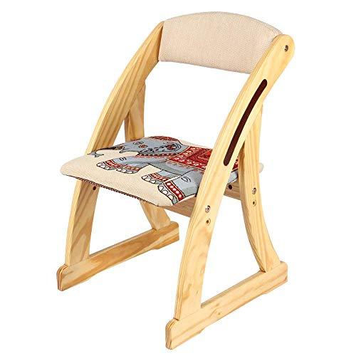 Kinderstoel van massief hout