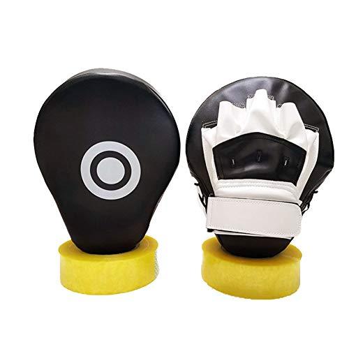 Handpratzen Kampfsport,Pratzen Kampfsport Boxing Pads Boxen Curved Fokus Pratze Verstellbare Riemen Für Karate, Muay Thai Kick