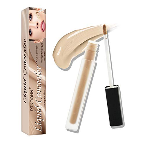 Liquid Concealer, Makeup Contour Concealer,Full Wear Concealer,Waterproof, Multi-Use Concealer to Shape,Contour & Sculpt