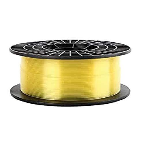 Print-Rite LFD014YQ7J CoLiDo Yellow PLA 3D Printer Translucent Filament Spool - 1.75mm diameter / 1kg