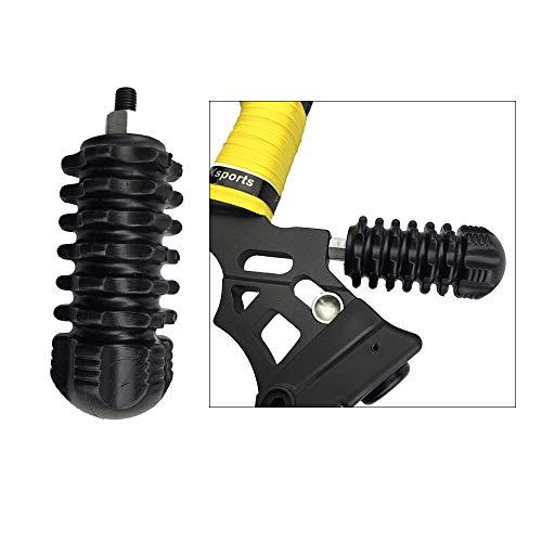AMEYXGS Bogenschießen Bogengriff Stabilisator Gummischalldämpfer für Recurve Bogen und Compound Bogen