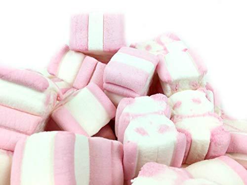 Orsetti di Marshmallow bicolore. Senza glutine e 0% grassi. Busta da Kg 1