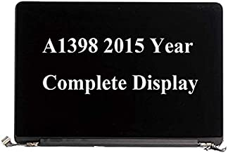 Original 661-02532 A1398 Full LCD Screen Assembly Mid 2015 for MacBook Pro 15 ' A1398 Full LCD Display Assembly EMC2909 EMC2910 MJLQQL/A MJLT2LL/A