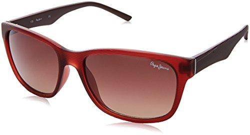 Pepe Jeans Pj7183C357 Gafas de sol, Granate, 57 para Hombre