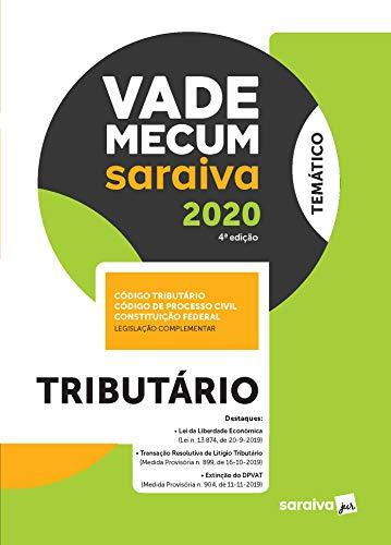 Vade Mecum Tributário - Temático - 4ª edição de 2020