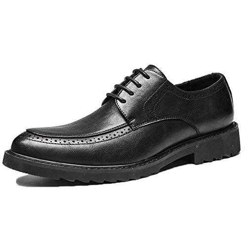 Zapatos Brogue para Hombre, Zapatos Formales de Uniforme Vintage, Zapatos Derby para...