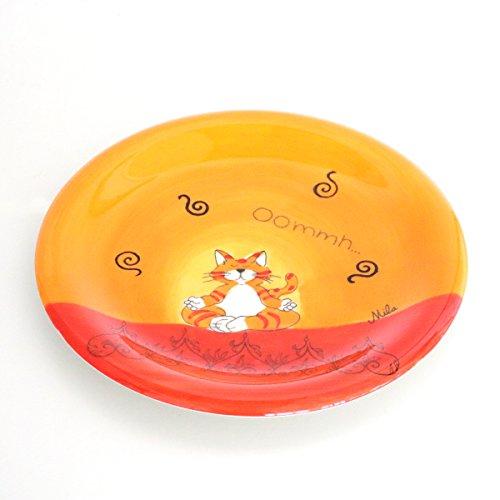 Mila Keramik-Teller, Oommh Katze | MI-84038 | 4045303840386