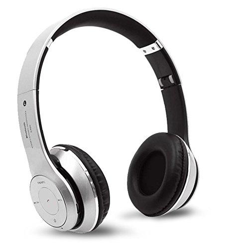 Cadi - Auriculares in-ear inalámbricos con Bluetooth, 3,5 mm, para todos los teléfonos con micrófono