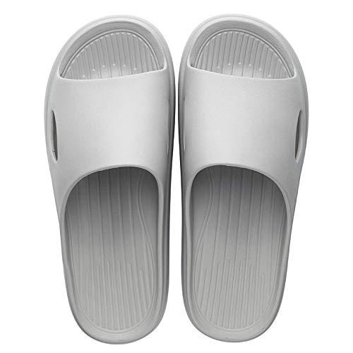 Zapatillas Casa Chanclas Sandalias Nuevas Zapatillas De Casa Para Mujer, Fondo Grueso, Interior, Parejas, Baño En Casa, Antideslizante, Sandalias Deslizantes Suaves, Zapatillas, Chanclas, Zapatos