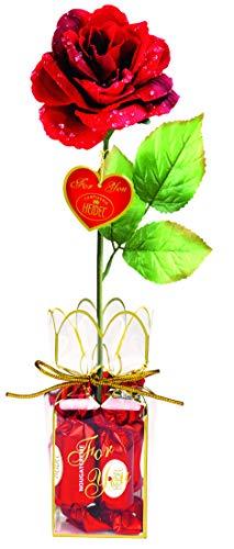 Confiserie Heidel Rote Rose mit...