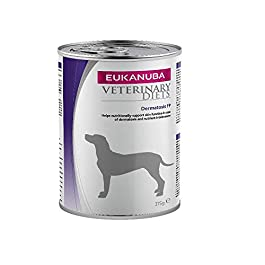 EUKANUBA Dermatosis Fp Wet Veterinary Food for Dogs with Food Intolerances or in the Case of Dermatosis – Pack of 6 x 400 g
