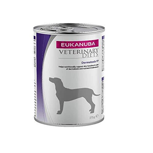 Eukanuba Dermatosis FP Nassfutter Tierarzt für Hunde mit Lebensmittelunverträglichkeiten oder im Dermatose-Caso - 6er Pack (6 x 400 g)