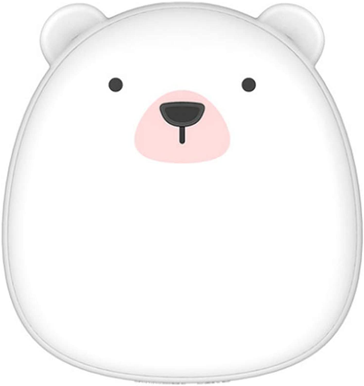 YUN Wieder aufladbare aufladbare aufladbare Handwärmer Paar warme Baby Pinguin Eisbär tragbare USB Mini Mobile Power (Farbe   Weiß) B079N7PNPX  Neueste Technologie a4fdeb