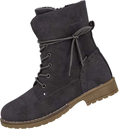 Lico Damen Linea Mode-Stiefel, Grau Grau, 38 EU