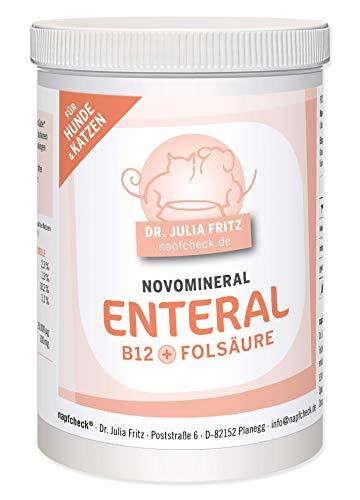 napfcheck Novomineral Enteral - Vitamin B12 und Folsäure für Hunde und Katzen - 150 g