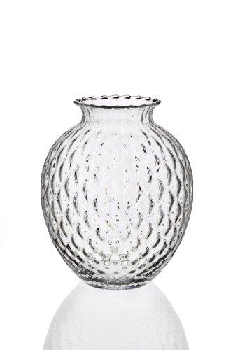 IVV Verrerie Infiore Vase, 27,9 cm Hauteur, Optic Clair