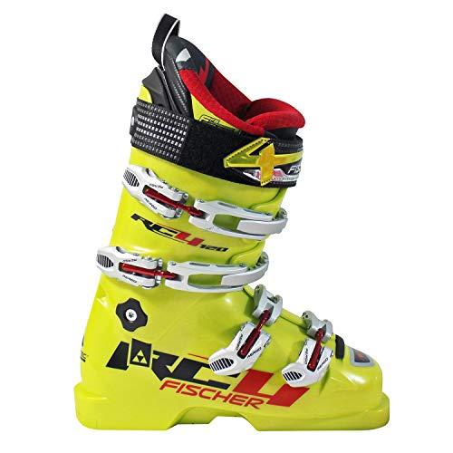 Fischer Unisex Jugend Soma RC4 Kinder Skischuhe MP22,0 EU35 1/3 Flex 120 Skistiefel Boots, gelb, 22.0