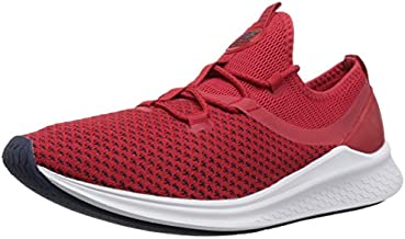 New Balance Men's Fresh Foam Lazr Sport V1 Running Shoe, Team Red/White Munsell, 10.5 D US