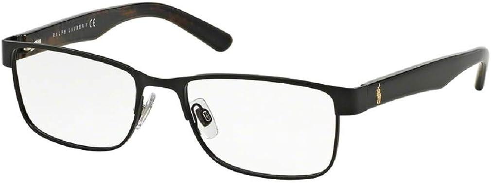 Polo Ralph Lauren PH1157 Rectangle Eyeglasses For Men+FREE Complimentary Eyewear Care Kit