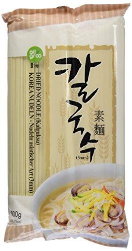 ALLGROO Youngwoo Nudeln, getrocknet, 3 mm, U-Dong (Tsajang Kuksu) (1 x 900 g Packung)