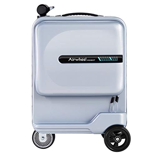 For Sale! 20-inch Electric Suitcase, Chargeable Smart Riding Scooter Luggage, 90kg Load-Bearing/Hidd...