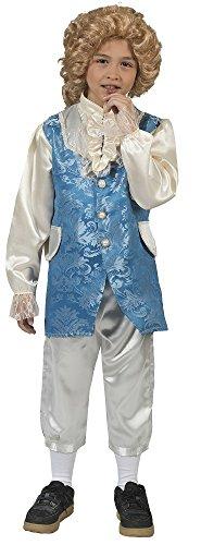 Barock Kostüm Johannes mit Weste für Jungen Gr. 152