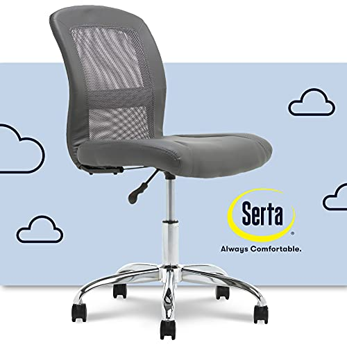 Serta Essential Mesh Low-Back Computer Chair