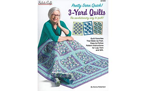 Fabric Cafe PDQ 3-Yard Quilts Bk, None