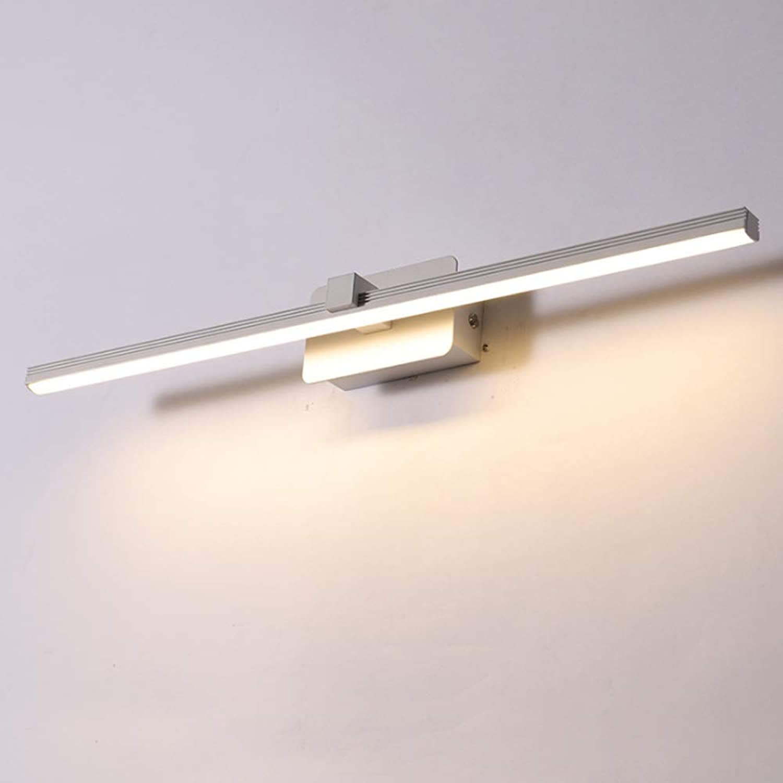 LAZ LED Badezimmer Eitelkeit Leuchte , Eitelkeit über Spiegel Wandleuchte Make Up Wandleuchte Wandleuchten für Ankleidezimmer Küche & Korridor (Farbe   Weiß-Cool Weiß-60cm)