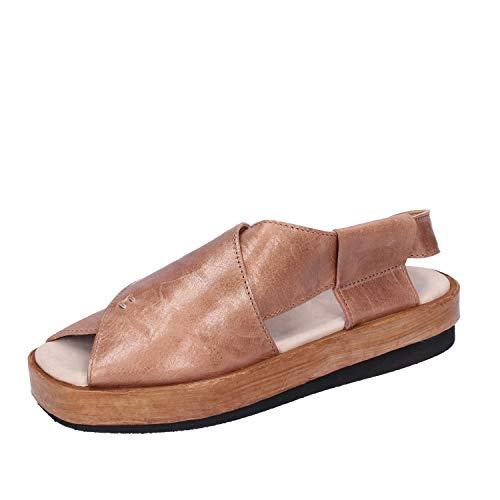 MOMA sandalen Damen leder beige 37 EU